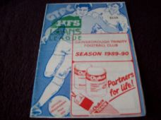 Gainsborough Trinity v Southport, 1989/90